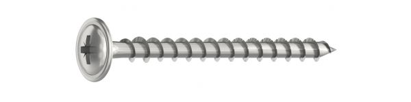 Wafer head screw